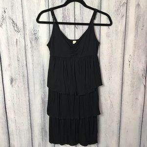 Old Navy Dress Layered Black Soft Stretch